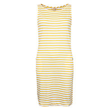 Buy Barbour Dalmore Stripe Dress, Yellow Online at johnlewis.com