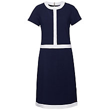 Buy Tommy Hilfiger Cayla Dress, Night Sky/Snow White Online at johnlewis.com