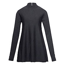 Buy Tommy Hilfiger Darelle A-Line Jumper, Dark Grey Heather Online at johnlewis.com