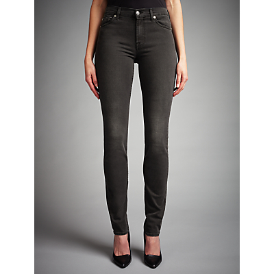 7 For All Mankind Rozie Slim Jeans, Portland Black
