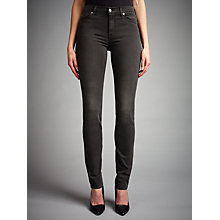 Buy 7 For All Mankind Rozie Slim Jeans, Portland Black Online at johnlewis.com
