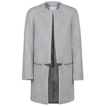 Buy Samsoe & Samsoe Hahn Jacket, Grey Online at johnlewis.com