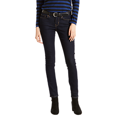 Levi's 711 Mid Rise Skinny Jeans, Lone Wolf