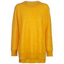 Buy Samsoe & Samsoe Amelie Jumper, Spectra Yellow Online at johnlewis.com