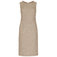 Buy Winser London Rosamund Tweed Dress, Camel Online at johnlewis.com