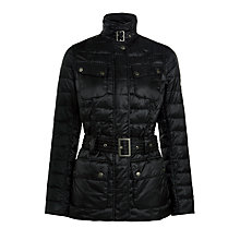 Buy Barbour International Broton Quilted Jacket, Black Online at johnlewis.com
