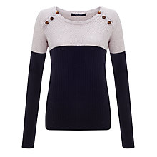 Buy Maison Scotch Colour Block Jumper Online at johnlewis.com