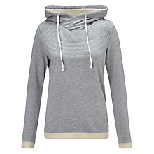 Buy Maison Scotch Home Alone Artwork Hoodie, Grey Online at johnlewis.com