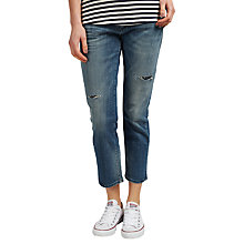 Buy Maison Scotch Boyfriend Jeans, Yolo Blue Vintage Online at johnlewis.com
