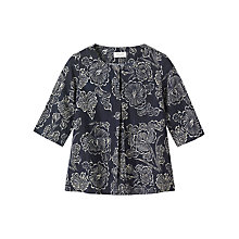 Buy Toast Batik Print Top, Indigo/Off White Online at johnlewis.com