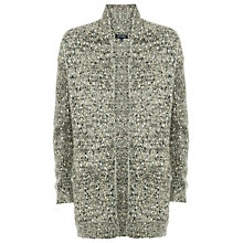 Buy Max Studio Novelty Yarn Cardigan, Grey/Gold Online at johnlewis.com