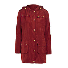 Buy Barbour International Delter Casual Jacket, Cherry Online at johnlewis.com
