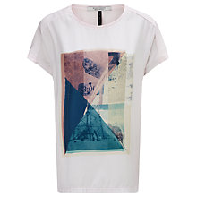 Buy Maison Scotch Photo Print T-Shirt Online at johnlewis.com