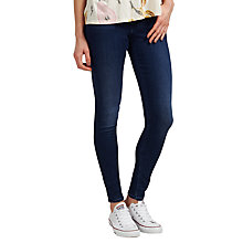 Buy Maison Scotch High Waist Skinny Jeans, Ocean Trip Online at johnlewis.com