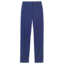 Buy Toast Flat Front Henry Trousers, Navy Online at johnlewis.com