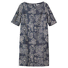 Buy Toast Batik Print Dress, Indigo/Off White Online at johnlewis.com