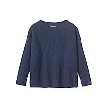 Buy Toast Teardrop Textured Jumper Online at johnlewis.com