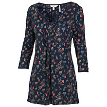 Buy Fat Face Arabella Fable Top, Navy Online at johnlewis.com