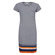 Buy Barbour Harewood Stripe Dress, Navy Online at johnlewis.com