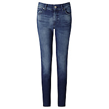 Buy 7 For All Mankind Rozie Slim Cropped Jeans, Left Hand Dark Online at johnlewis.com