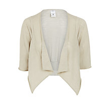 Buy Crea Concept Linen-Blend Shrug Online at johnlewis.com