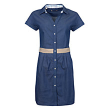 Buy Barbour Hackamore Dress, Blue Online at johnlewis.com