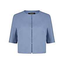 Buy Weekend MaxMara Scenico Cropped Jacket, Ocean Online at johnlewis.com