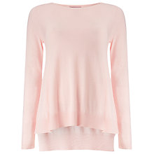 Buy Phase Eight Esta Swing Knit Jumper, Dusty Pink Online at johnlewis.com