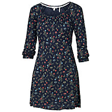 Buy Fat Face Fernhurst Fable Tunic Dress, Navy Online at johnlewis.com