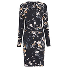 Buy Warehouse Blossom Rouched Dress, Multi Online at johnlewis.com