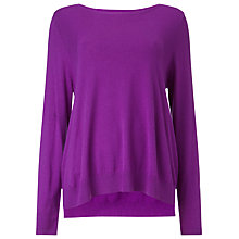 Buy Phase Eight Esta Swing Jumper, Magenta Online at johnlewis.com