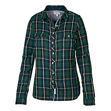 Buy Fat Face Classic Fit Doubles Check Shirt, Tap Green Online at johnlewis.com
