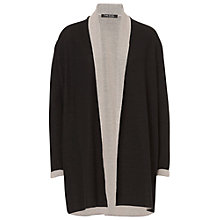 Buy Betty Barclay Long Two Tone Cardigan, Dark Blue/Cream Online at johnlewis.com