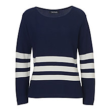 Buy Betty Barclay Striped Jumper, Dark Blue/Cream Online at johnlewis.com