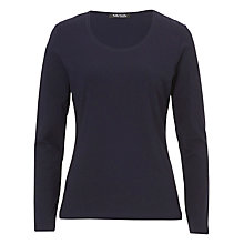 Buy Betty Barclay Long Sleeve T-Shirt, Navy Blue Online at johnlewis.com