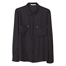 Buy Mango Patch Pocket Blouse Online at johnlewis.com