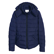 Buy Mango Quilted Coat With Detachable Hood Online at johnlewis.com