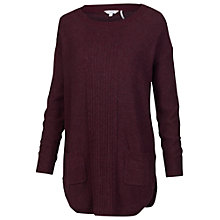 Buy Fat Face Truro Pocket Tunic, Plum Online at johnlewis.com