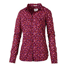 Buy Fat Face Classic Fit Antonia Print Shirt, Rosewood Online at johnlewis.com