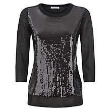 Buy Fenn Wright Manson Pollie Sequin Jumper, Black Online at johnlewis.com