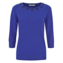 Buy Fenn Wright Manson Lucia Jumper, Blue Online at johnlewis.com
