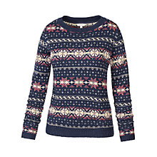 Buy Fat Face Winderton Pattern Jumper Online at johnlewis.com