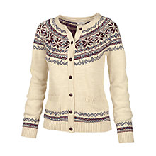 Buy Fat Face Pattern Cardigan Online at johnlewis.com