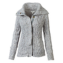 Buy Fat Face Estava Cable Cardigan, Grey Online at johnlewis.com