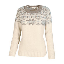 Buy Fat Face Snowflake Jumper Online at johnlewis.com