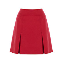 Buy Karen Millen Wool Mini Skirt, Pink Online at johnlewis.com
