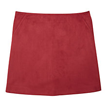 Buy Mango Zip Skirt, Red Online at johnlewis.com