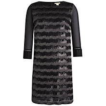 Buy Celuu Kathryn Sequin Dress, Black Online at johnlewis.com