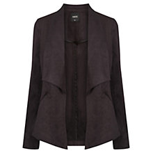 Buy Oasis Suedette Waterfall Jacket Online at johnlewis.com