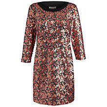 Buy Celuu Scarlett Sequin Dress, Gold Online at johnlewis.com